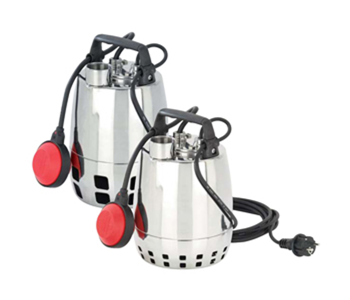 submersible pumps in stainless steel