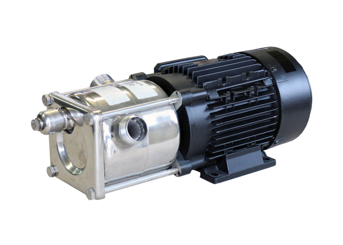 self-priming liquid ring pumps in stainless steel