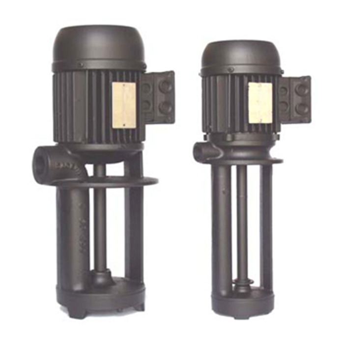 Immersion pumps with open impeller